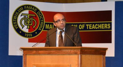 Presenting the analysis of the College System survey report.
