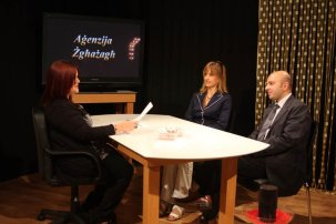 During a discussion about the services provided by Aġenzija Żgħażagħ.