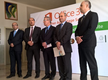During the launch of the teacher Advantage Scheme.
