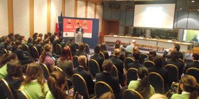 The MUT and Aġenzija Żgħażagħ during the debate on quality education.