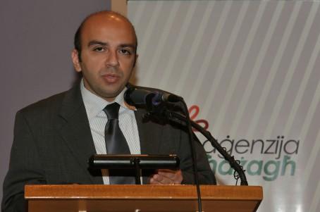 During a presentation about the Konkors Letteratura għaż-Żgħażagħ.