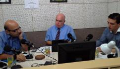 During a radio discussion on RTK.