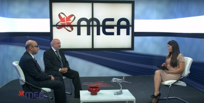 During a TV interview on MEA.
