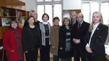 During a visit by MUT delegation in Bulgaria.