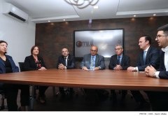 Minister for Education and Employment Evarist Bartolo and President of the Malta Union of Teachers (MUT) Marco Bonnici address a press conference-MUT new offices-Hamrun-24-10-19